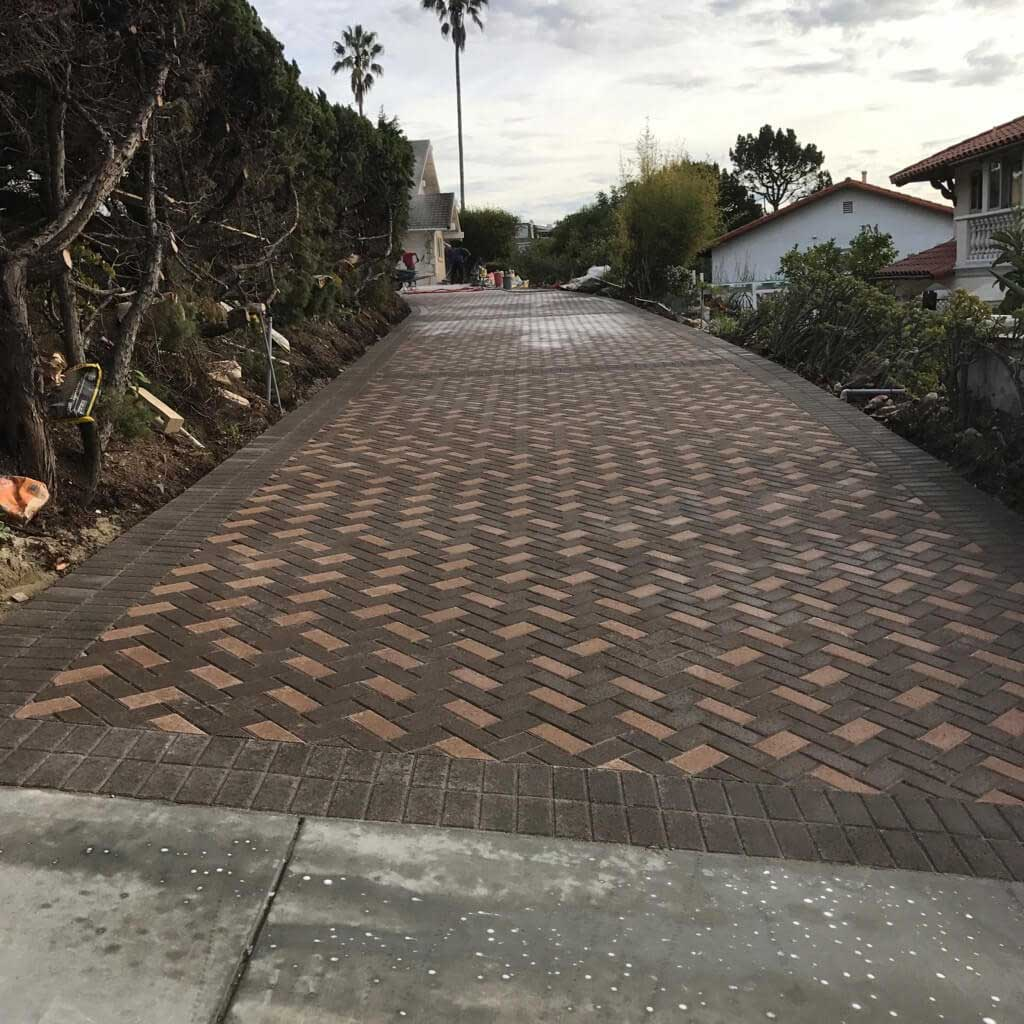 Herringbone Pavers