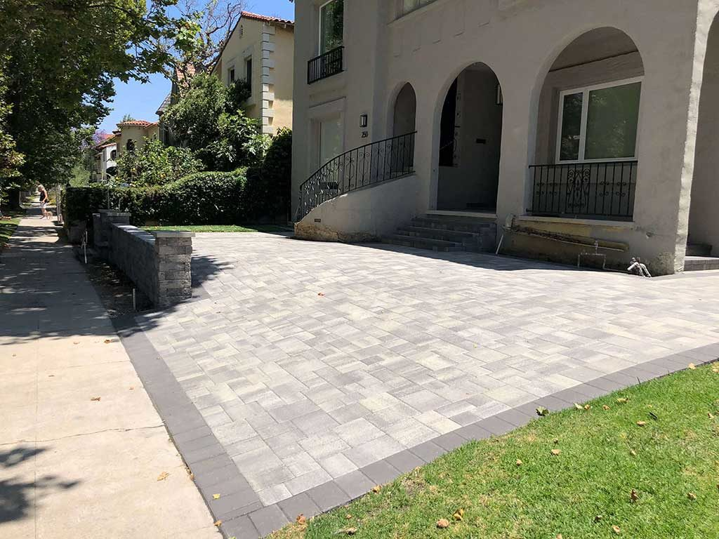 Gray Charcoal Pavers